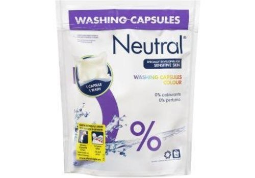 Neutral Wasmiddel Capsules Color 10 stuk