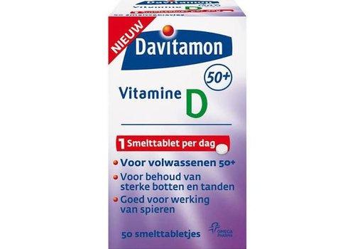Davitamon Vitamine D 50+   50 smelttabl