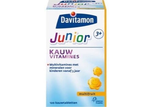 Davitamon Junior 3+ Kauw 120st Multifrui