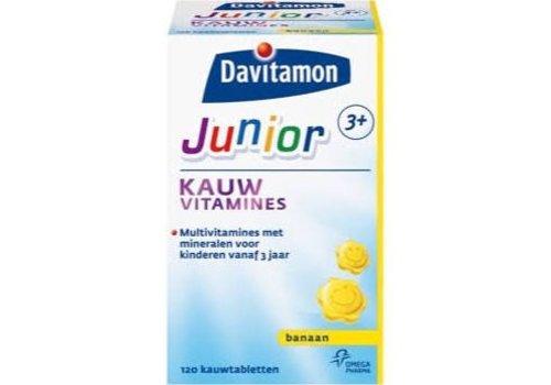 Davitamon Junior 3+ Kauw 120st Banaan