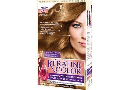 Keratine Color 7.5 Caramelblond