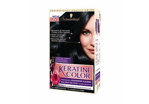 Keratine Color 1.0 Zwart