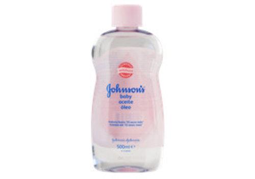 Johnson's Babyolie 500 ml Natural Roze