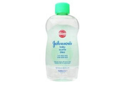 Johnson's Babyolie 500 ml Aloe Vera