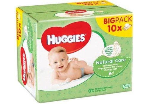 Huggies Babydoekjes Nat. Care 10 in DOOS