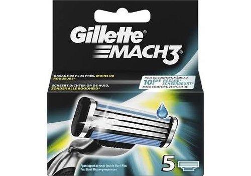 Gillette Mach 3 Mesjes 5 Stuks