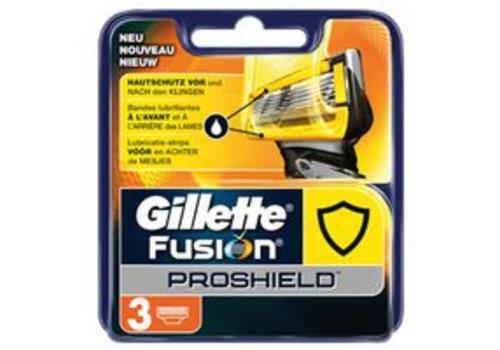 Gillette Fusion ProShield Mesjes 3 stuks