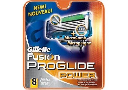 Gillette Fusion Pro glide Power Mes. 8