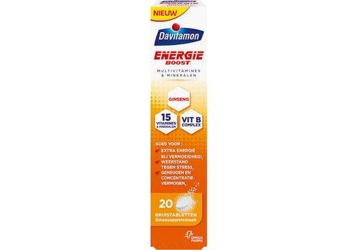 Davitamon Energie Boost Ginseng 20 bruis