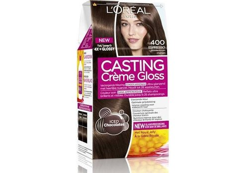 Casting Creme Gloss 400 Midden Bruin