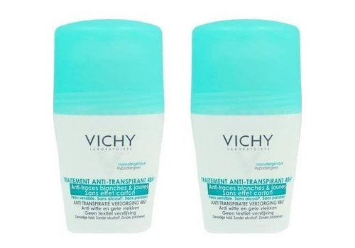 Vichy 48H Anti-Transpirant Anti-Traces Roll-On 100ml