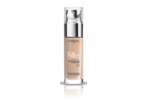 L'oreal Foundation True Match 1N Ivory
