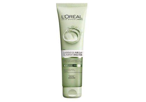 L'oreal Skin Pure Clay Gel 150 ml Zuiver
