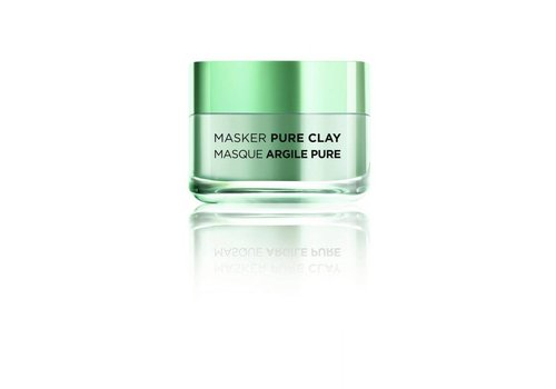 L'oreal Skin Masker Pure Clay Zuiverend