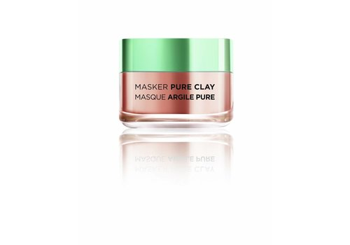 L'oreal Skin Masker Pure Clay Exfolieren