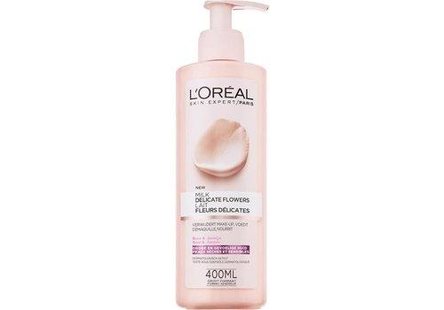 L'oreal Skin Exp Del Flower Milk 400ml