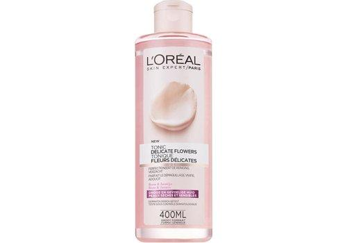 L'oreal Skin Exp Del Flower Tonic 400 ml