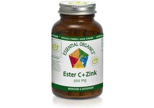 Ess. Organics Vit Ester C  + Zink 60 tb