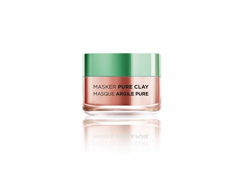 L'oreal Skin Masker Pure Clay Exfolieren