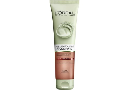 L'oreal Skin Pure Clay Gel 150 ml Exfoli