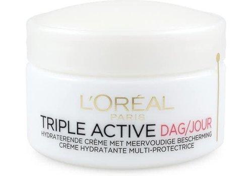 L'oreal Skin Triple Active Dagcreme Drog