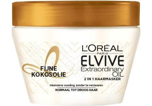 Elvive Masker 300 ml Extra Ord Oil Kokos