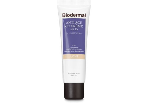 Biodermal Anti Age CC Cream SPF15 Light