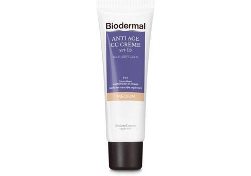 Biodermal Anti Age CC Cream SPF15 Medium