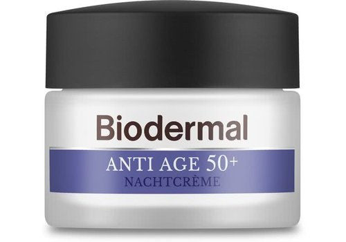 Biodermal Anti-Age 50+ Nachtcreme 50 ml