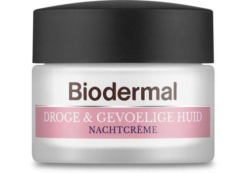 Biodermal Droge & Gevoelige Huid Nachtcr