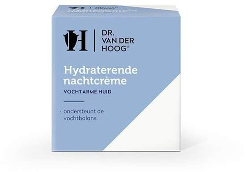Dr. vd Hoog Hydraterende Nachtcreme 50ml