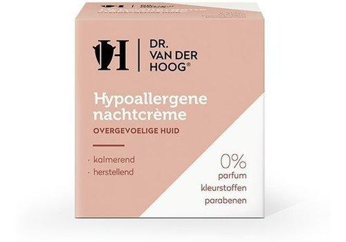Dr. vd Hoog Hypoallergene Nachtcreme 50m