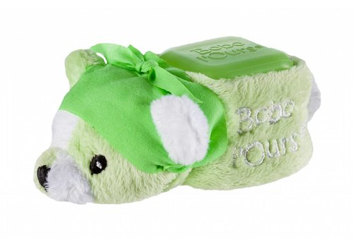 ALPHANOVA BABY BOBO Green Bear - cooling bear