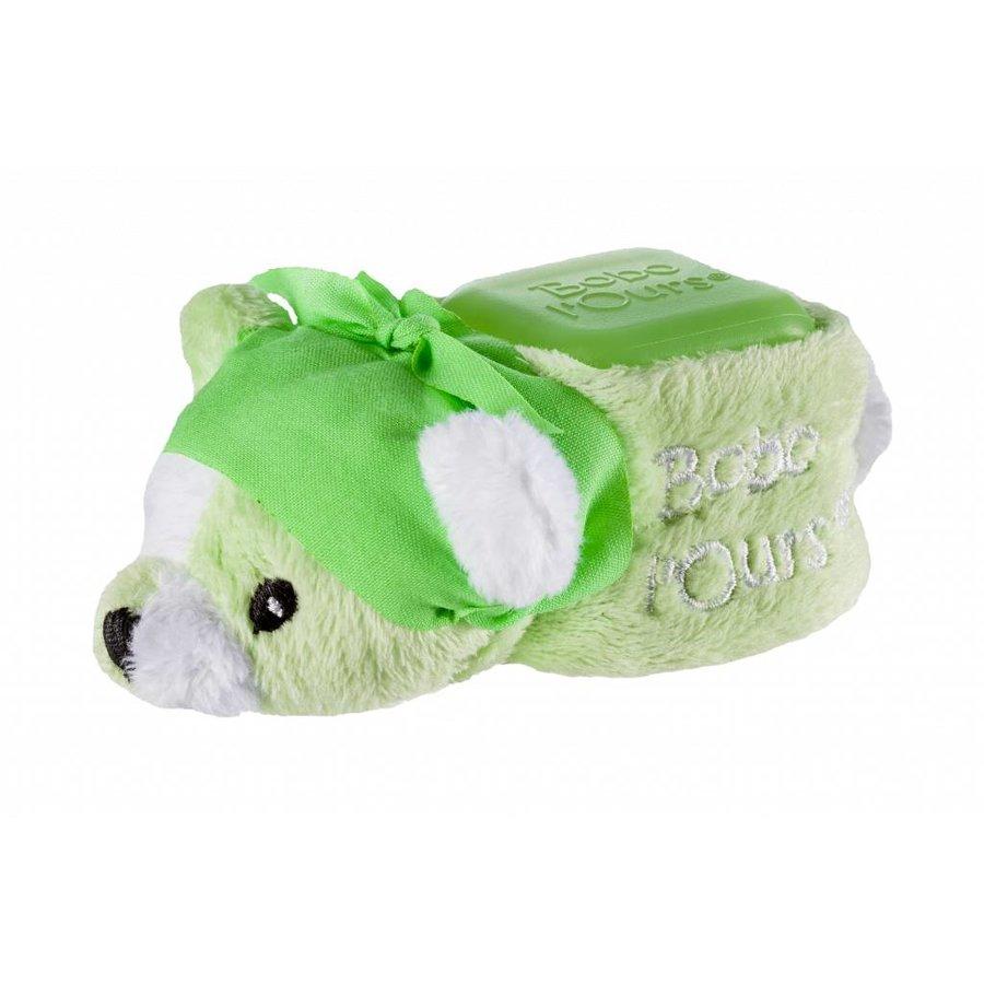ALPHANOVA BABY BOBO Green Bear - cooling bear-1