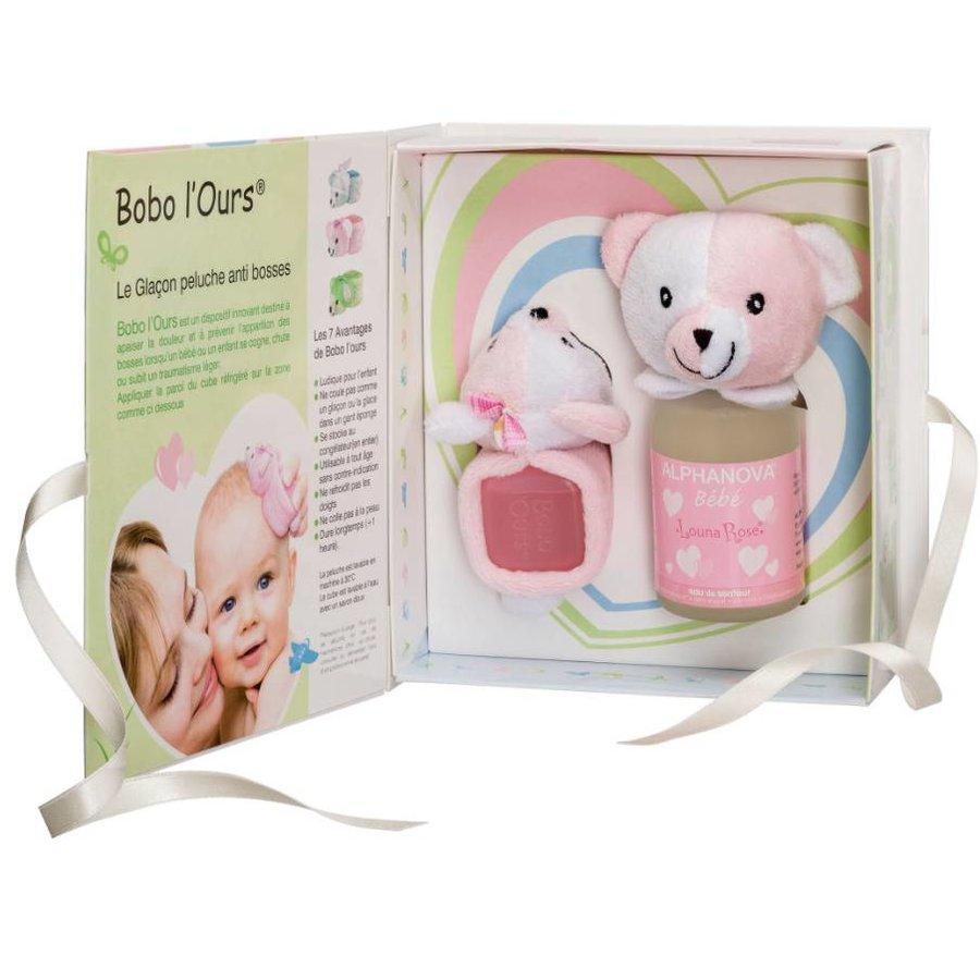 ALPHANOVA BABY Gift Set Bobo Pink-1