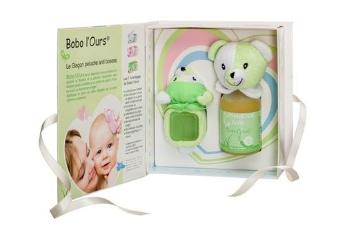 ALPHANOVA BABY Gift Set Bobo Green