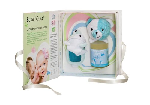 ALPHANOVA BABY Gift Set Bobo Blue