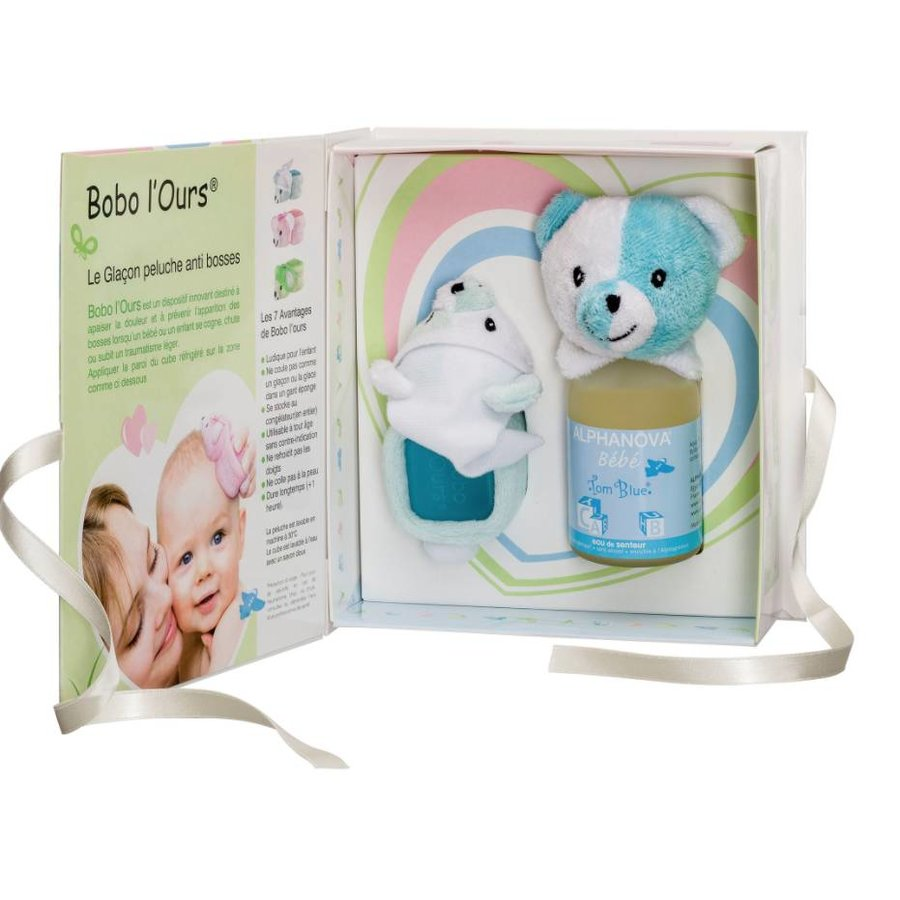 ALPHANOVA BABY Gift Set Bobo Blue