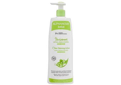 ALPHANOVA BABY Olive Cleanser 500ml