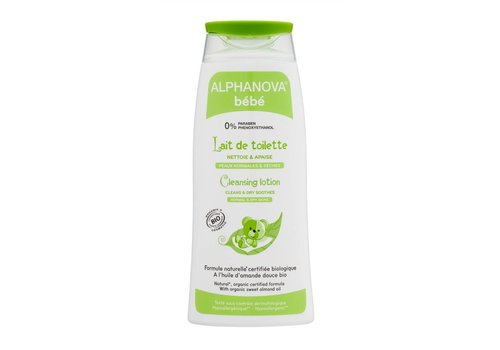 ALPHANOVA BABY Organic Cleansing Lotion 200ml