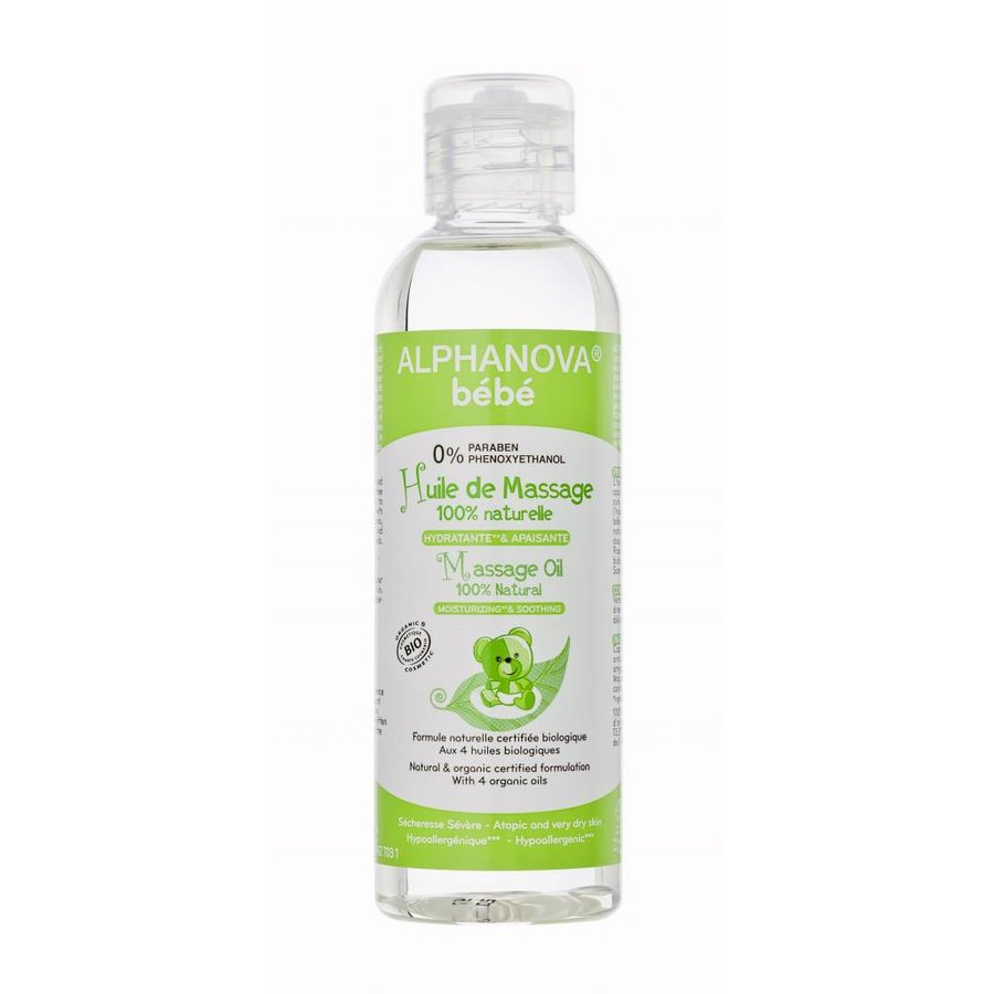 ALPHANOVA BABY Organic Massage Oil 100ml-1