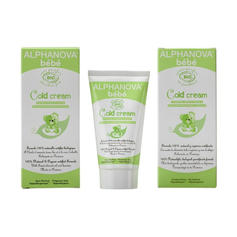ALPHANOVA BABY Organic Cold Cream 50g-1