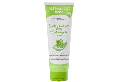 ALPHANOVA BABY Moisturizing Milk for Atopic Skin FACE BODY 250ml