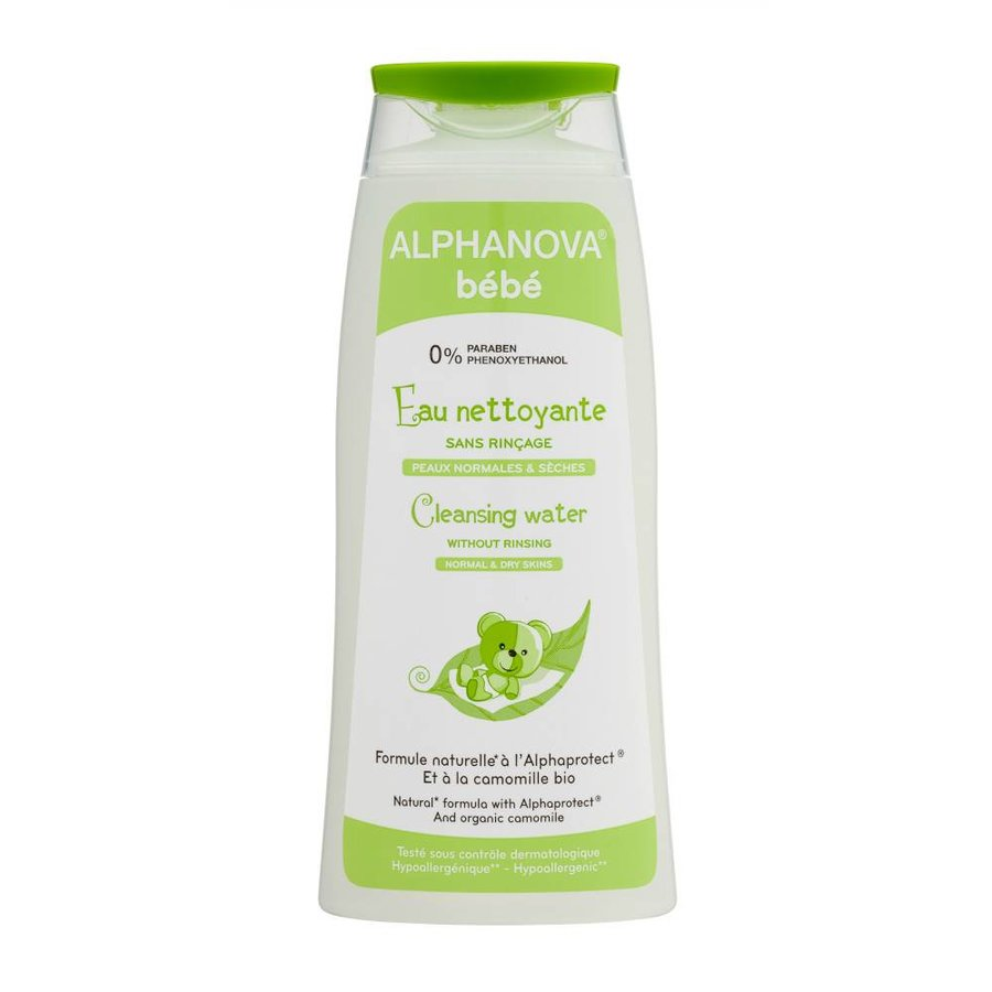 ALPHANOVA BABY Cleansing water with organic Chamomile FACE BODY 200ml-1