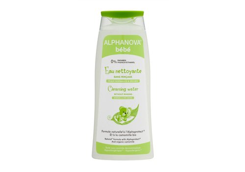 ALPHANOVA BABY Cleansing water with organic Chamomile FACE BODY 500ml