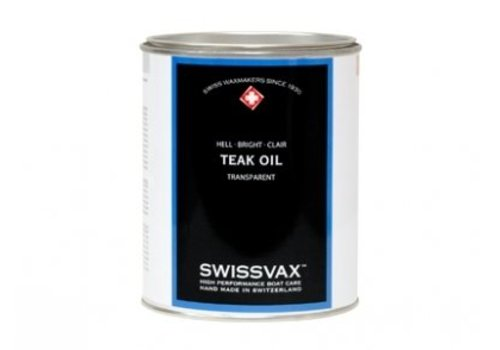 Swissvax Teak Oil - 2 soorten
