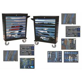 SP Tools - Nautic line compleet gevulde gereedschapskar
