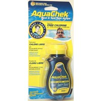 AQUACHEK YELLOW 4-IN-1 Testsrips 50st.