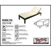 Raffles Covers Beschermhoes voor ligbed 210 x 75 H: 40 cm