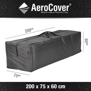 Tas voor loungekussens, 200 x 75 H: 60 cm